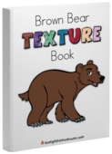 Brown bear book cover mockup