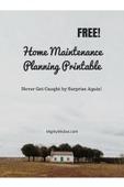 Home maintenance planning printable%281%29