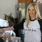 Love into jars instagram pom juice on steam canner smiling