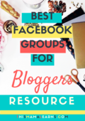 Top 10 facebook groups for bloggers(1)