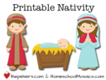 Printable nativity 300x225