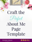 Craft the perfect about me page template   image