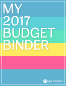 Budget binder 2017 cover