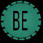 Be logo negative