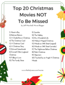 Top 20 christmas movies not to be missed
