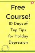 Free course! holiday depression