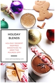 Holiday dessert smoothie guide2017