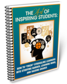 Art of inspiring students book cover 2