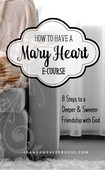 Blog mary heart e course