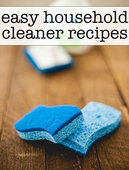 Easy household cleaner recipes book