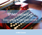 Interviewing course graphic