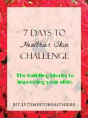7 days to healthier skin challenge
