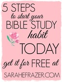 5 steps to start your bible study habit today for free