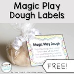 Magic play dough cover