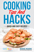Cooking tips and hacks ebook cover