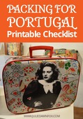 Portugal packing list
