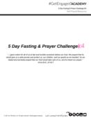 5 day fasting   prayer snapshot tiffytalks