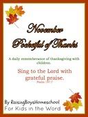 Pocketful of thanks raisingboyshomeschool