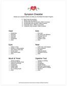 Symptoms screenshot