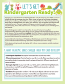 Kindergarten readiness 2