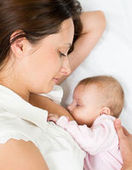 Simply breastfeeding image