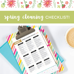28 springcleaning checklist