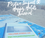 Positive impact 50happy habits journal smaller