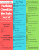 Baby packing checklist thumbnail