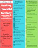 Baby packing checklist thumbnail