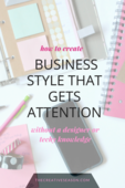 Business style that gets attention
