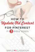 Update old content for pinterest 1