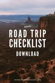 Road trip checklist download form the mandagies