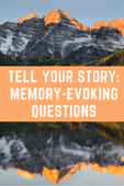 Memory evoking questions