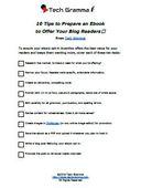 Ebook checklist th