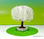 Pop up apple tree card small