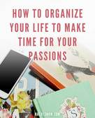 Organize time pin