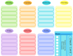 Schedules printable png file