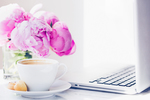 Haute chocolate styled stock photography peonies and coffee 6 final