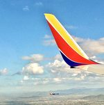 Southwest airlines planes wing