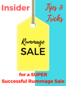 Insider tips and tricks for super successful rummage sale