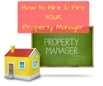 How to hire fire a property manager