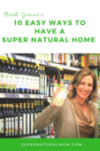 Beth greer 10 easy ways to have a super natural home cvr