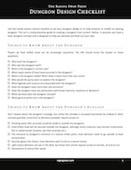 Dungeon design checklist  150