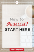 Pinterest newbies start here