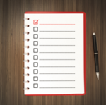 Checklist picture