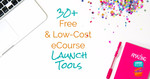 30  free and low cost ecourse launch tools facebook