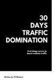 30 days traffic domination course 2