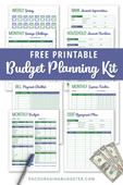 Budget planner preview