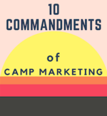 Cover  10 commandments of camp marketing   300px