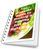 The ultimate guide to starting a healty diet the right way image transparent